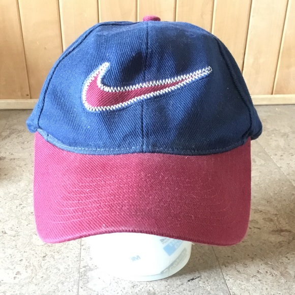 VINTAGE NIKE 90s baseball cap hat adjustable. M 5b453c9be944ba0fe92cd06a 66e184c04bbc